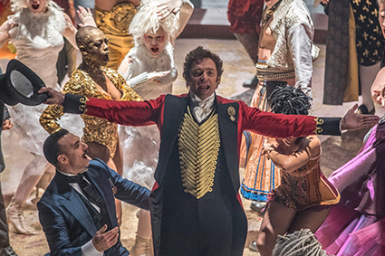 The Greatest Showman Holiday Family Package